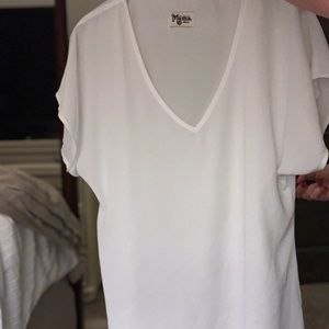 Show Me Your MuMu White Tunic/Coverup